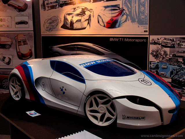 BMW T1 Motorsport scale model, Coventry University Degree Project