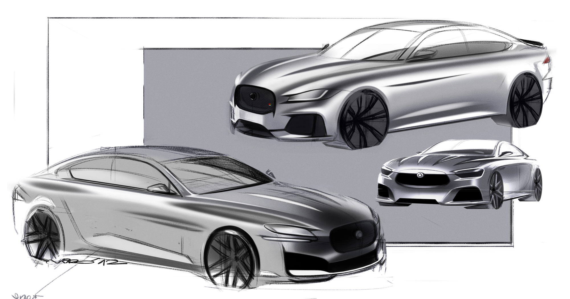 Jaguar XF Design Developt | Miroslav Dimitrov ®