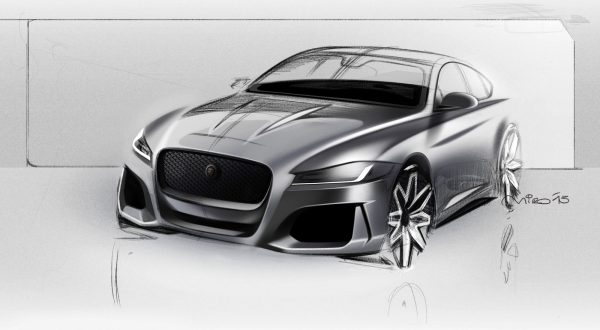 Jaguar xf exterior design sketch by miroslav dimitrov for Exterior car design