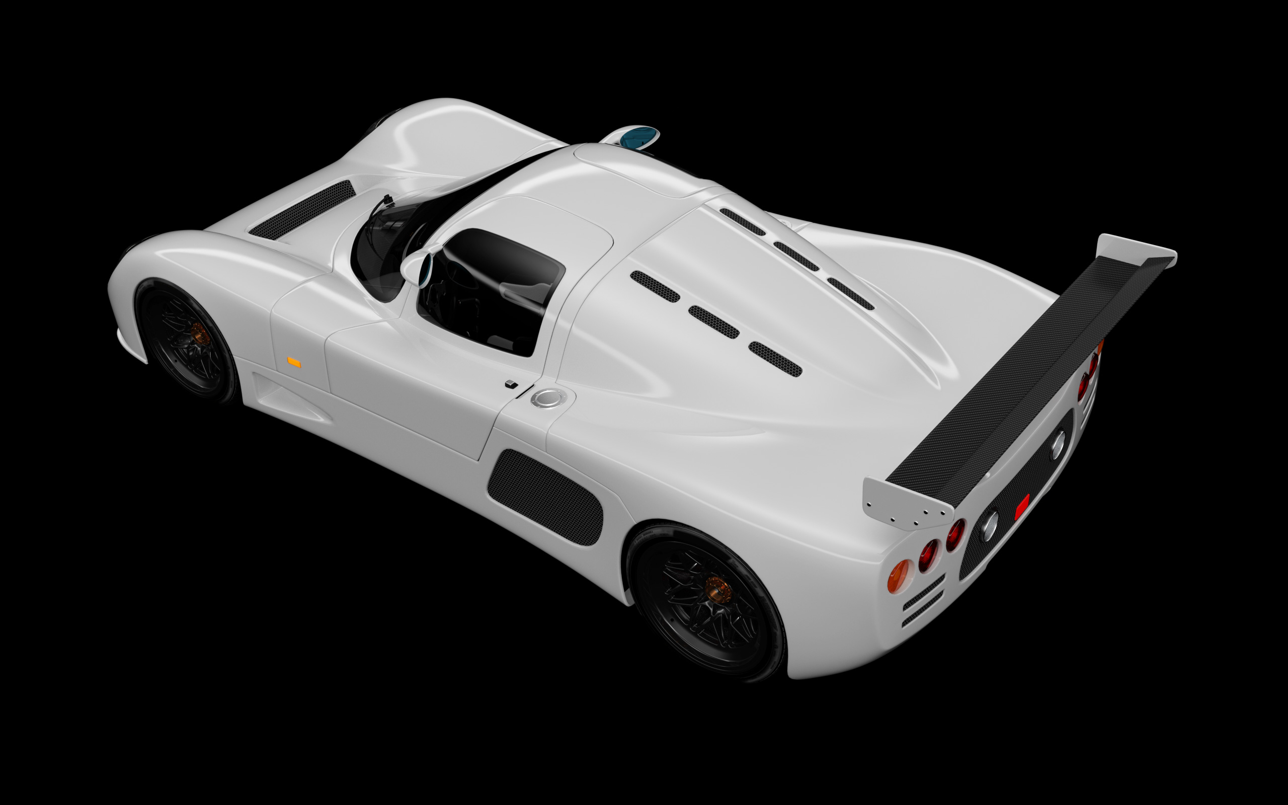 Ultima GTR VRED Test Render