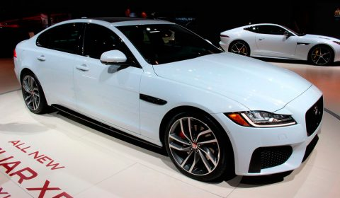 2016 Jaguar XF-S New York Auto Show 2015 NYIAS