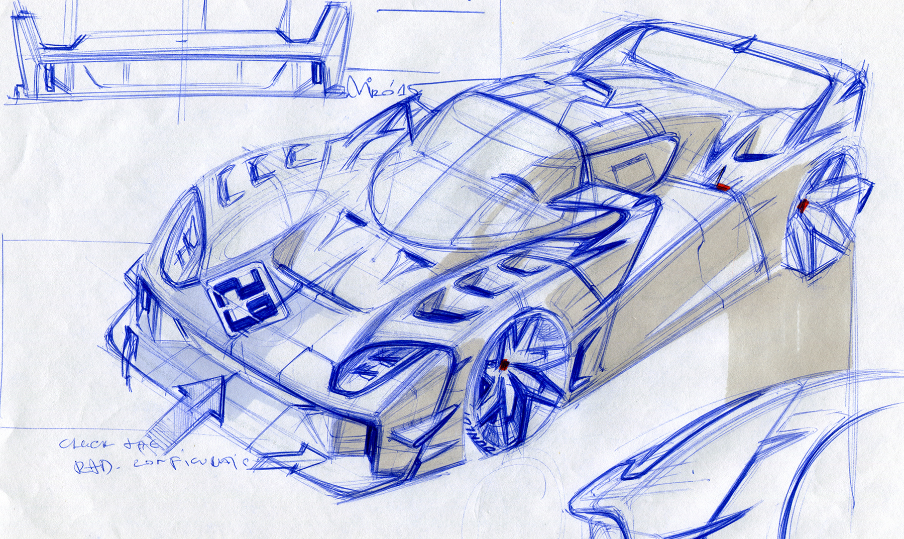 EIDO GTR Concept Sketch by Miroslav Dimitrov | Copyright © 2017 Miroslav Dimitrov