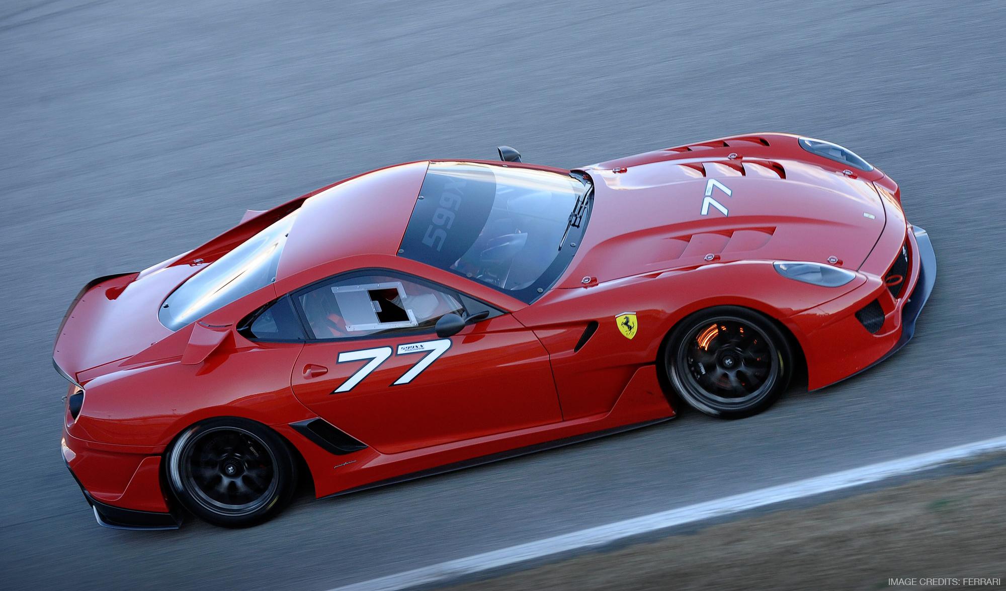 Ferrari 599XX Exterior Design by Miroslav Dimitrov | Image Credits: Ferrari