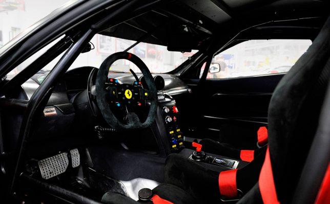 Ferrari 599XX Interior Design by Miroslav Dimitrov | Image Credits: eGarage