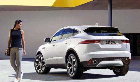 Jaguar E-Pace design by Miroslav Dimitrov