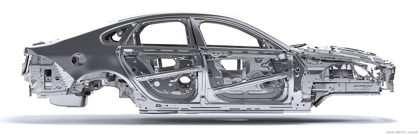 Jaguar XF All New Aluminium platform