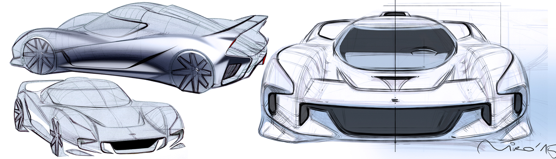 EIDO GTR Design Sketches by Miroslav Dimitrov