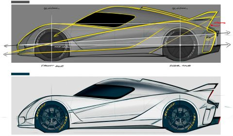 EIDO GTR Concept Design by Miroslav Dimitrov - Balance, Proportions and Curves.
