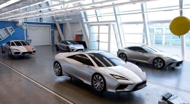Lotus Cars Design Studio Featuring Full Size Clay Models. Image Credits: EVO Magazine