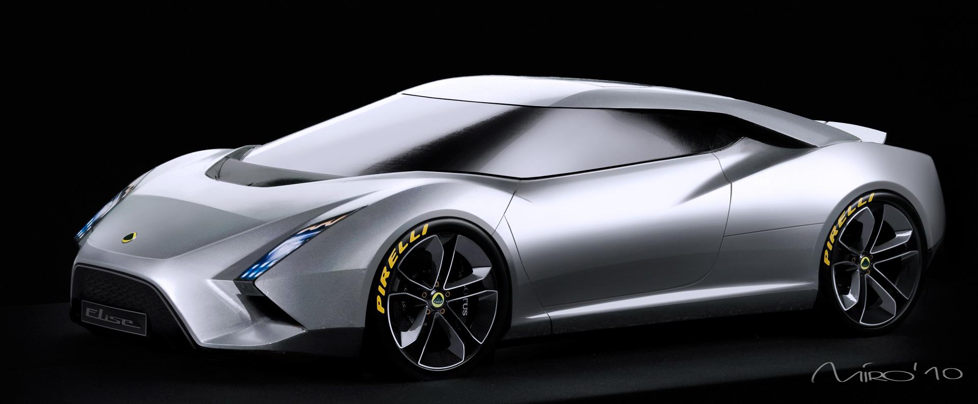Lotus Concept Cars At Paris 2010