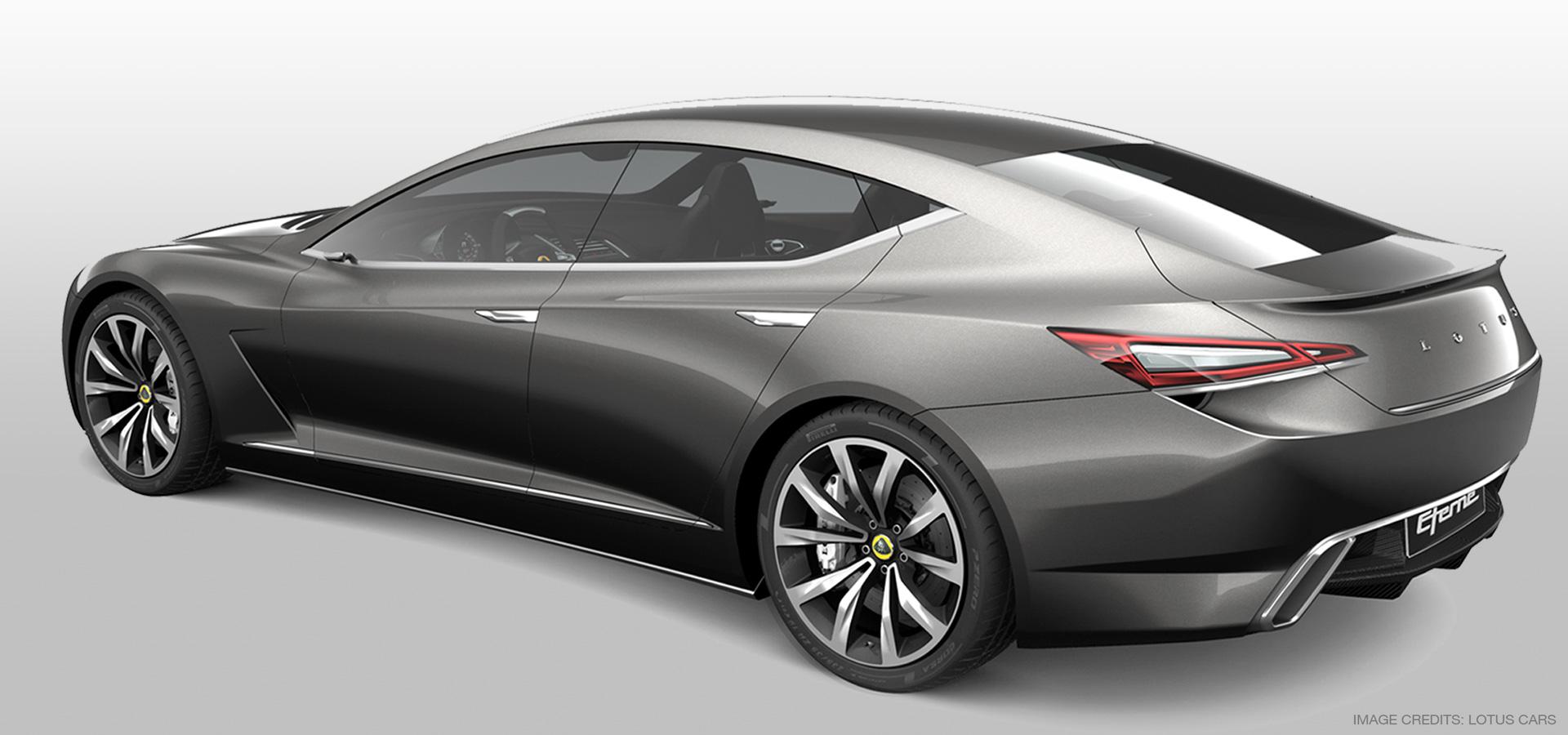 Lotus Eterne Concept - 3D Model
