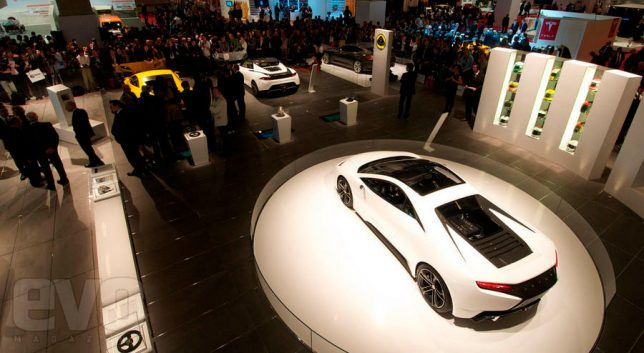 Lotus Show Cars Reveal at The Paris Motor Show 2010. Image Credits: EVO Magazine