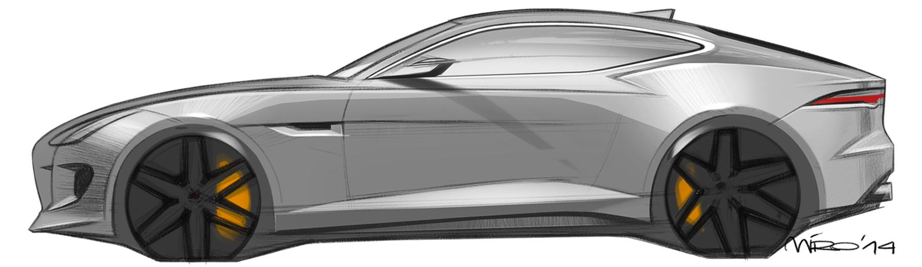 Jaguar F-Type Sketch by Miroslav Dimitrov