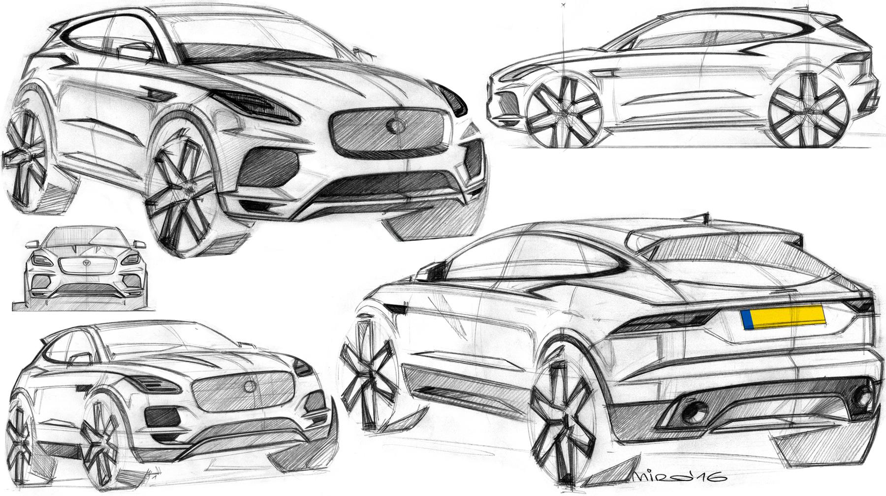 Miroslav Dimitrov, Jaguar E-Pace Designer.