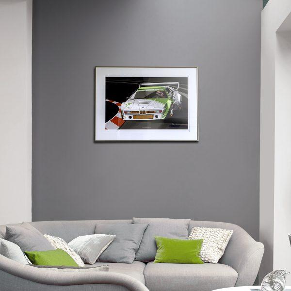 BMW M1 Procar Artwork by Miroslav Dimitrov