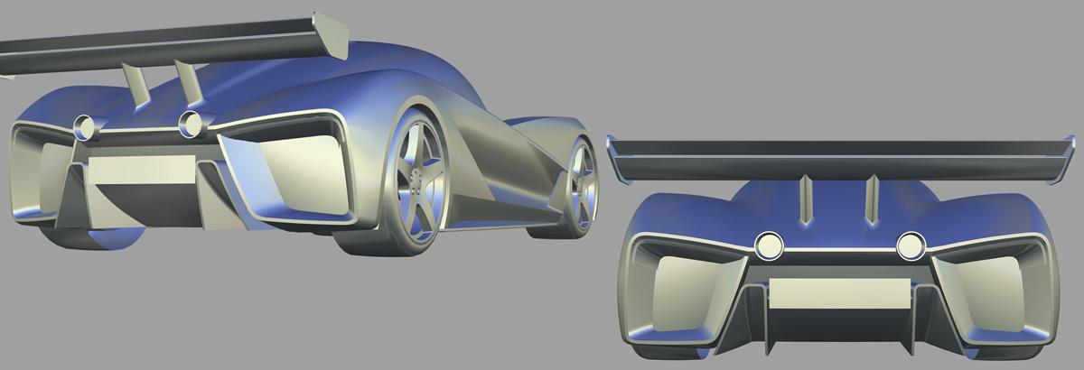EIDO GTR Concept 3D CAD Model