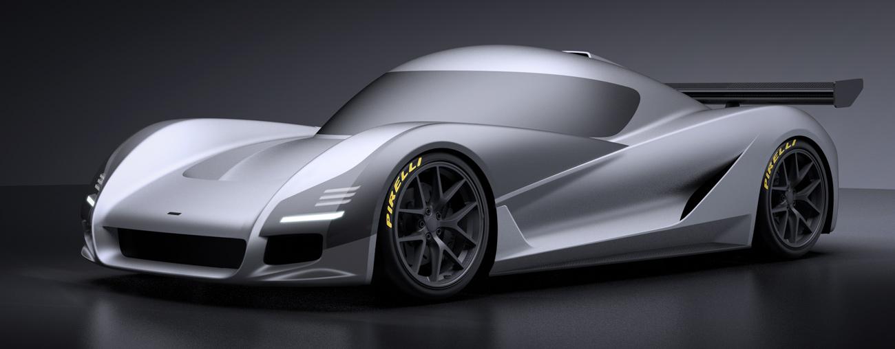 EIDO GTR Concept 3D Visualisation
