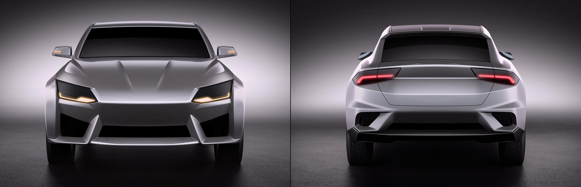 Compact SUV design by Miroslav Dimitrov