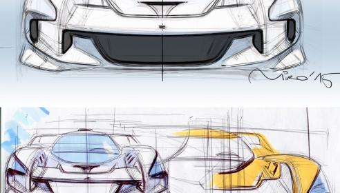 EIDO MA001 Concept Front End Design Theme Sketches by Miroslav Dimitrov